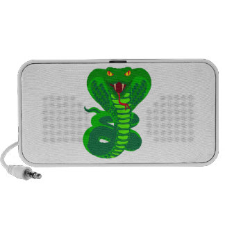 Queue Kobra snake cobra Travel Speakers