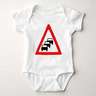 Queues Likley Symbol Baby Bodysuit