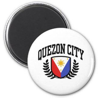 Quezon City 2 Inch Round Magnet