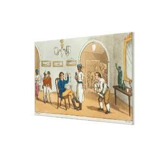 Qui Hi in the Bombay Tavern, from 'The Grand Maste Canvas Print