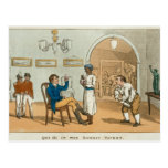 Qui Hi in the Bombay Tavern, from 'The Grand Maste Postcard