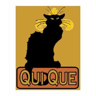 Qui Que Cat shirt