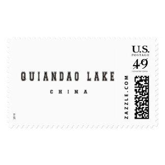 Quiandao Lake China Postage