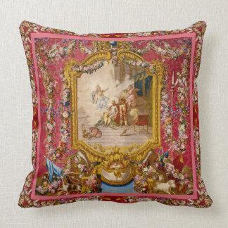 Quichotte Baroque Elegance Throw Pillow