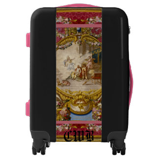 Quichotte Baroque Old World Elegant Monogram Luggage