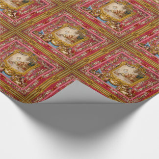Quichotte Baroque Old World  Glossy Wrapping Paper