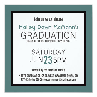 Quick and Easy Any Color Girl Boy Grad Card