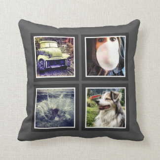 Quick and Easy Custom Instagram Photo Throw Pillow