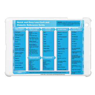 quick and easy Low-Carb Diabetic Reference Guide iPad Mini Case