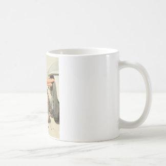Quick Change Pin Up Art Coffee Mug