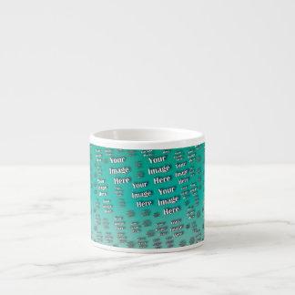 Quick Customizable Digital Photo Template Espresso Cup