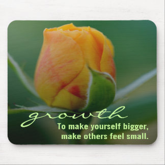 Quick & easy method for personal growth mouse pad