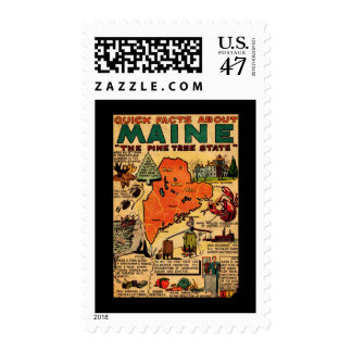 Quick Facts About Maine Stamp