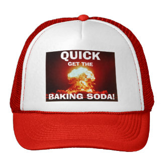 QUICK!  Get the BAKING SODA! Mesh Hat