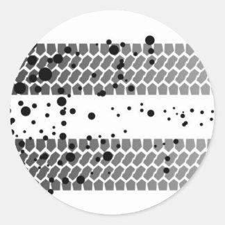 Quick Getaway Classic Round Sticker
