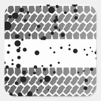 Quick Getaway Square Sticker