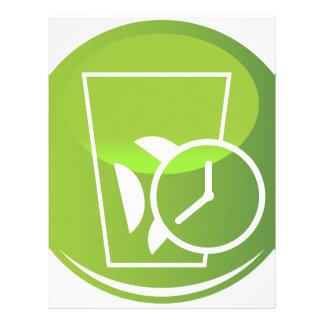 Quick Ice Maker Timer Icon Letterhead