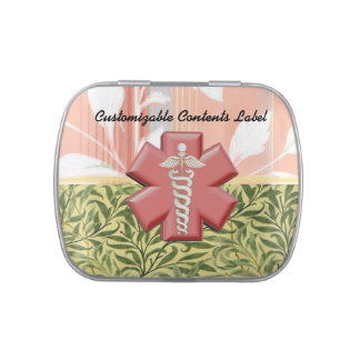 Quick Meds Tin Jelly Belly Candy Tin