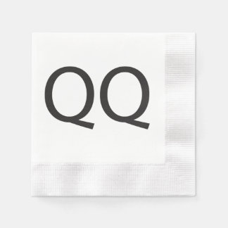 Quick Question -or- Cry More.ai Coined Cocktail Napkin