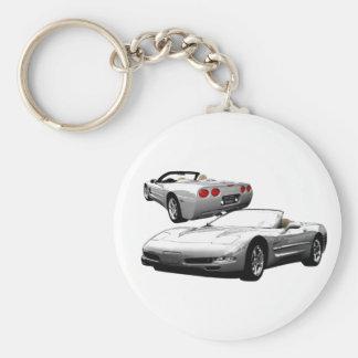 Quick Silver Keychain