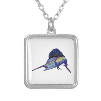 QUICK TO FIGHT SILVER PLATED NECKLACE