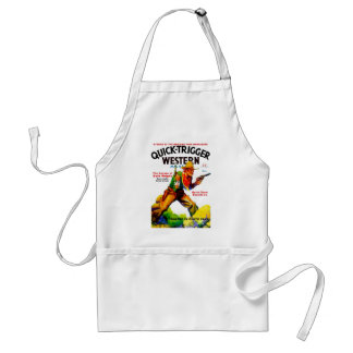 Quick Trigger Western Adult Apron