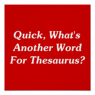 Quick What s Another Word For Thesaurus Print
