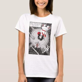 'Quicker & Cheaper Than Divorce' front design Ts T-Shirt