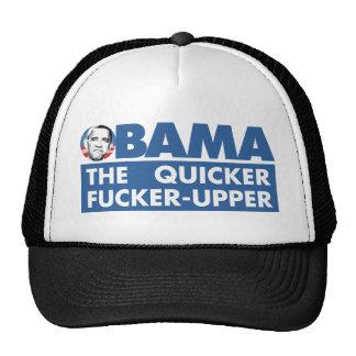 quicker rupper trucker hat