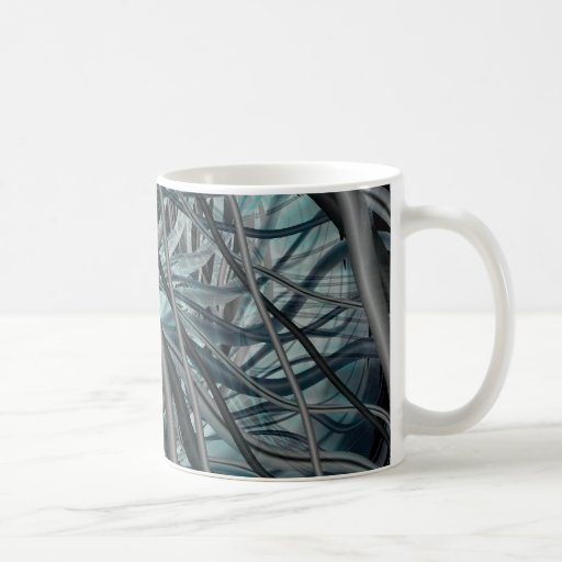 Quicksilver Classic White Coffee Mug