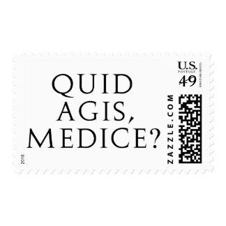 Quid Agis, Medice? Postage