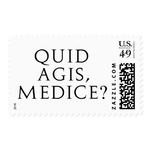 Quid Agis, Medice? Stamps