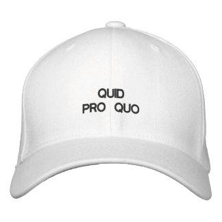 QUID PRO QUO - Customizable Cap by eZaZZleMan.com