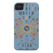 QUIDDITCH™ World Cup Blue iPhone 4 Case-Mate Case