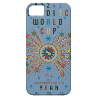 Quidditch World Cup Blue iPhone 5 Covers