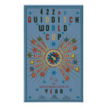 QUIDDITCH™ World Cup Blue Poster