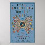"QUIDDITCH™ World Cup Blue Poster<br><div class=""desc"">Goblet of Fire</div>"