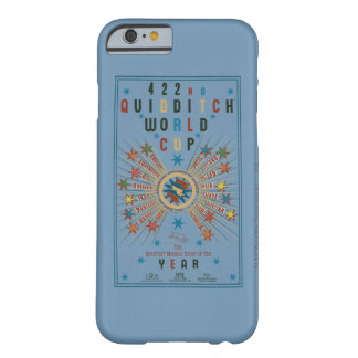 Quidditch World Cup Blue Poster Barely There iPhone 6 Case