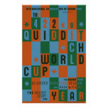 Quidditch World Cup Checkerboard Poster