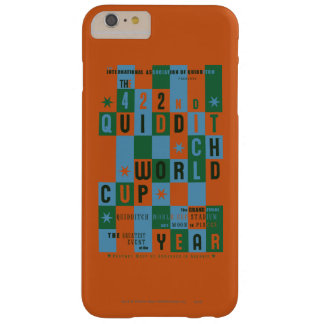 Quidditch World Cup Checkerboard Poster Barely There iPhone 6 Plus Case