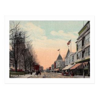 Quidnick St., Arctic, Rhode Island 1910 Vintage Postcard