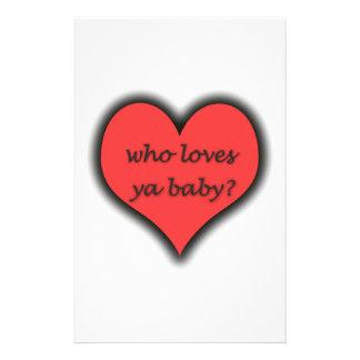¿Quién ama al bebé de Ya Papeleria