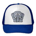 ¿Quién ama elefantes? Gorra lindo del camionero