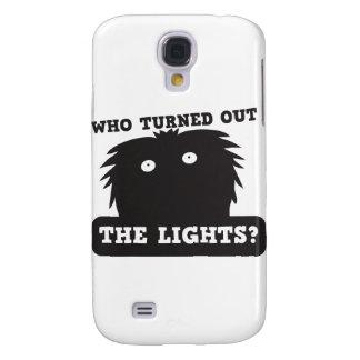 ¿quién apagó las luces? funda para galaxy s4