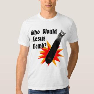 ¿Quién bomba de Jesús? Remera