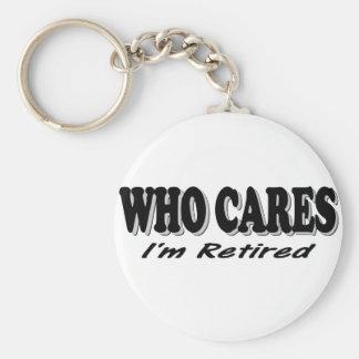 Quién cuida - me retiran llaveros personalizados