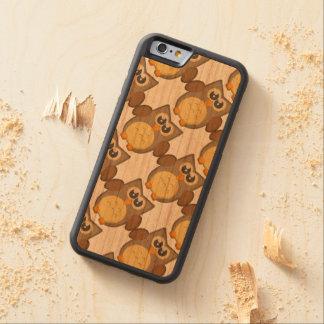 ¿Quién da un pitido? caja de madera de la cereza Funda De iPhone 6 Bumper Cerezo