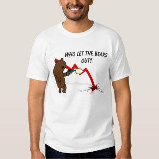 ¿Quién dejó los osos hacia fuera? Camisas