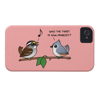 ¿Quién el pío? Case-Mate iPhone 4 Carcasa