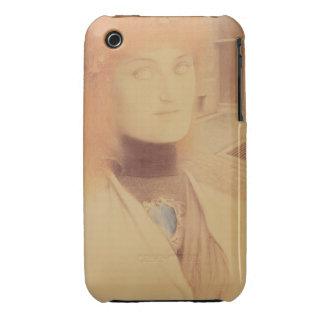 ¿Quién entregarme? (lápiz coloreado en el papel) iPhone 3 Case-Mate Cárcasas
